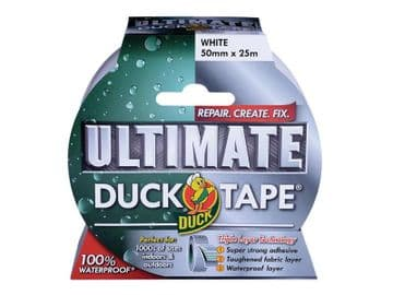 Duck Tape® Ultimate 50mm x 25m White